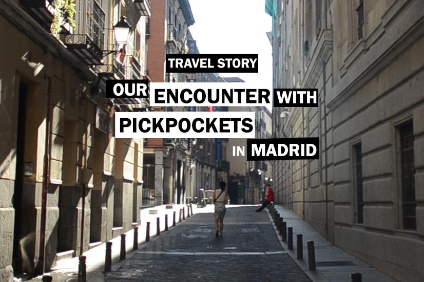 pickpockets in Madrid Spain