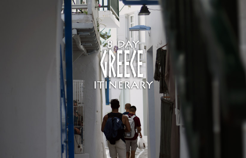 8 Day Greece Itinerary to Santorini, Mykonos, Athens