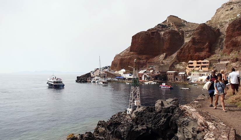 greece itinerary Ammoudi bay