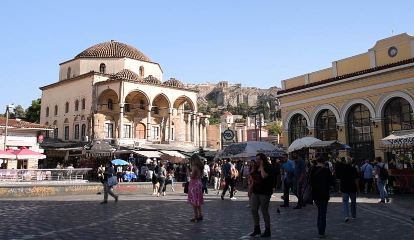 greece itinerary Monastiraki
