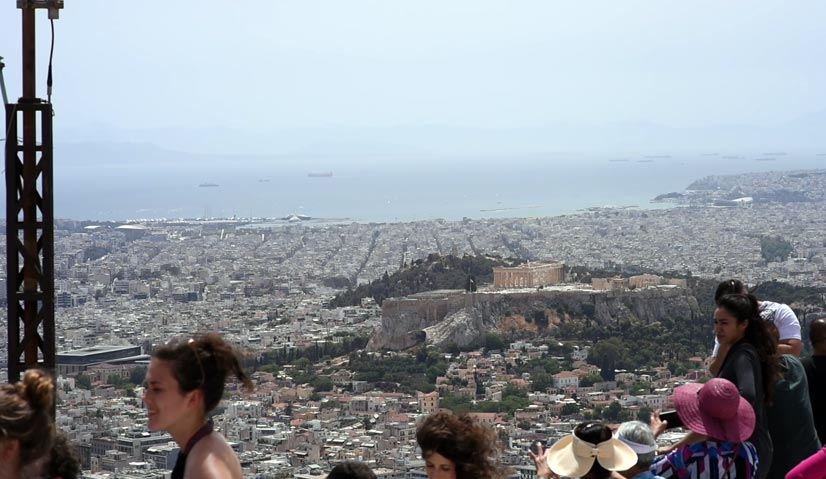 greece itinerary Likavitou Hill