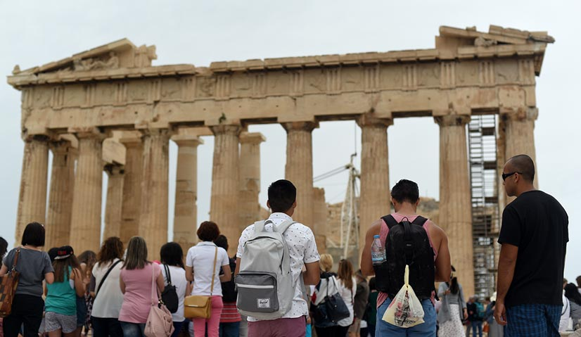 greece itinerary Parthenon