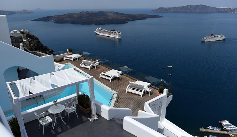 Greece Itinerary Athina Suites Fira