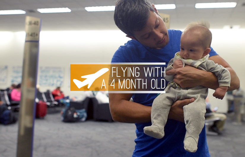 flying with a 4 month old