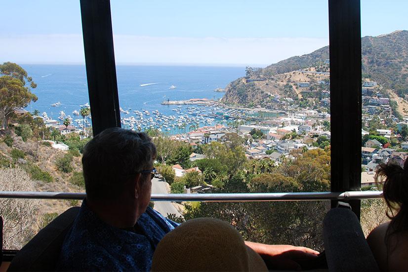 visiting catalina island siteseeing