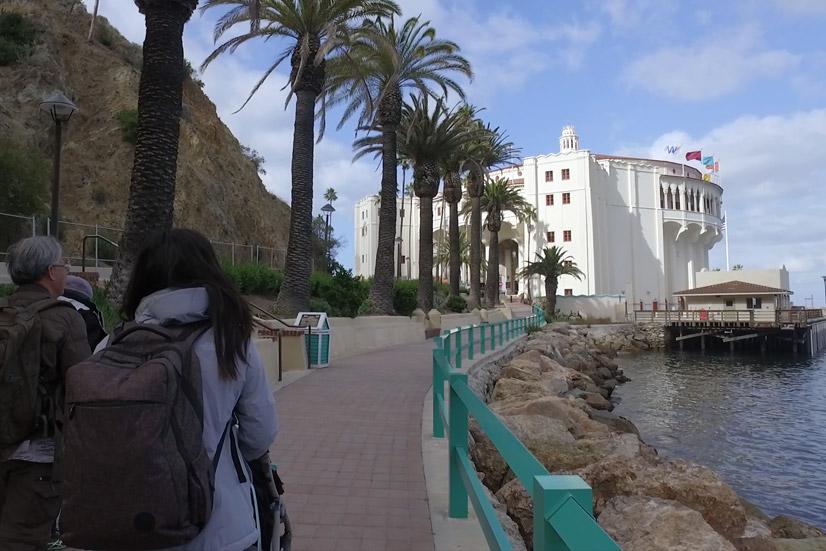 visiting catalina island