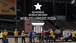 world's longest pizza 2017 fontana