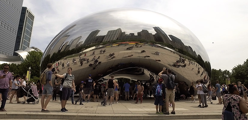 4 Day Chicago Itinerary Cloud Gate