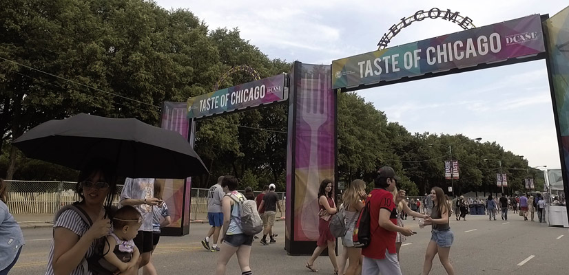 4 Day Chicago Itinerary Taste of Chicago