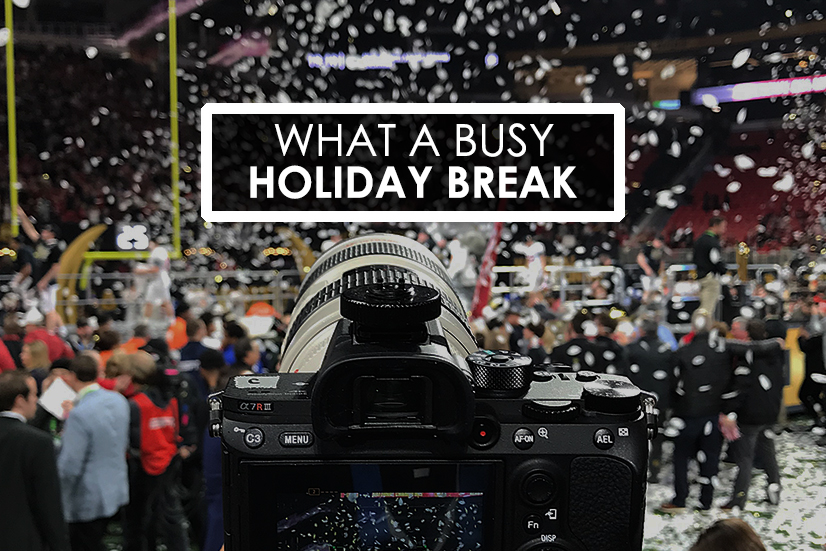busy holiday break