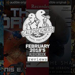 February 2018 Audiobook Reviews