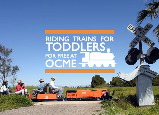 trains for toddlers OCME