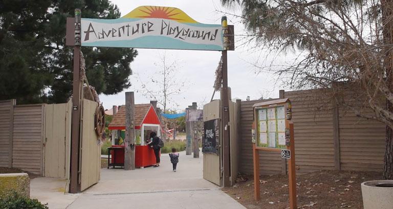 Adventure Playground Irvine entrance