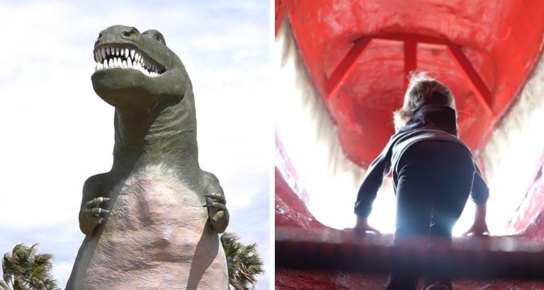 Cabazon Dinosaurs - Mr. Rex | Califoreigners.com