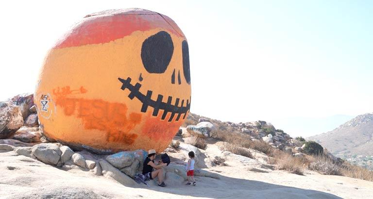 Pumpkin Rock Norco california