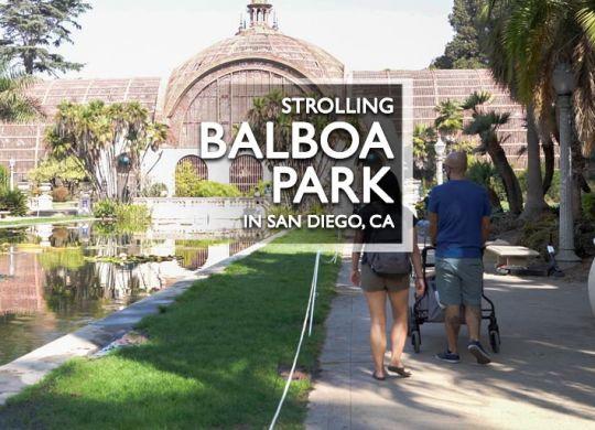 Balboa Park in San Diego 2020