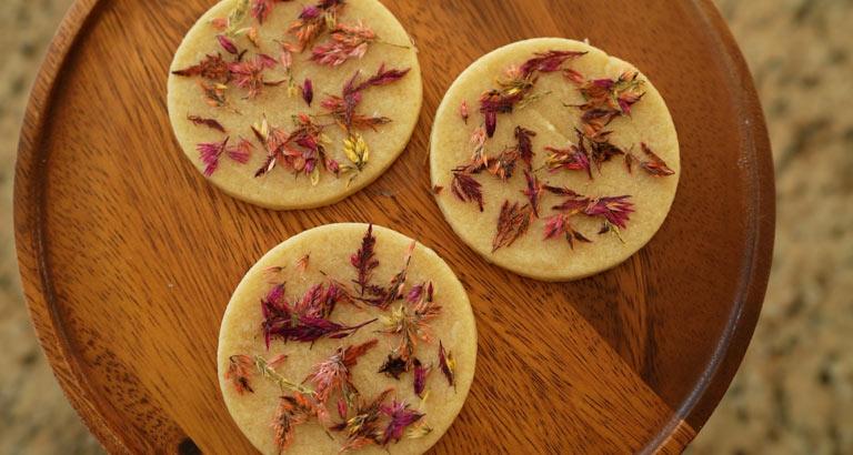 Creating Fall Botanical Cookies 01
