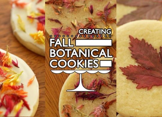 Fall Botanical Cookies