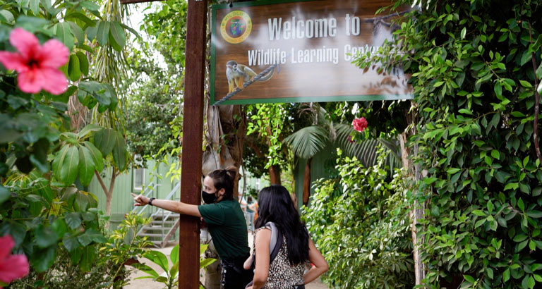 wildlife learning center private tour 2020