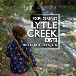Exploring Lytle Creek River in Lytle Creek, CA