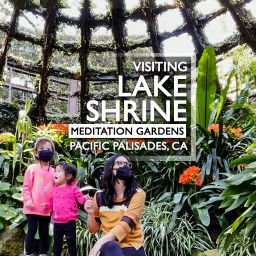 Visiting the Lake Shrine in Pacific Palisades, CA