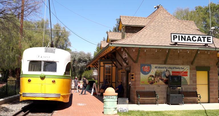 Southern California Railway Museum main building