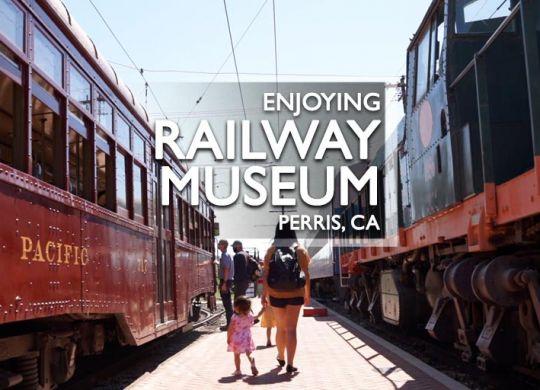 Southern California Railway Museum Perris, CA