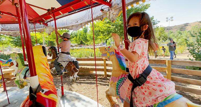 Live Oak Canyon Pumpkin Patch Carnival rides